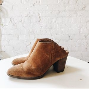 Franco Sarto heeled backless bootie!